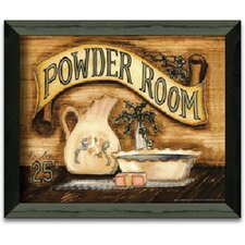 Powder Room Art Print Wall Art