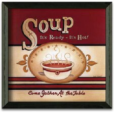 Soup - It's Ready Art Print Wall Art