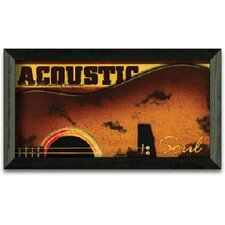 Acoustic Art Print Wall Art