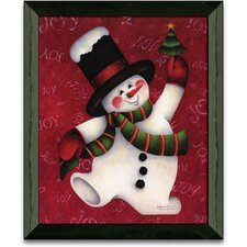 Move It Move It Christmas Holiday Framed Painting Print