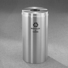 Recycle Pro Single Stream Bottles 33 Gallon Industrial Recycling Bin