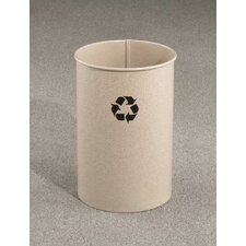 RecyclePro Single Stream Open Top Recycling Receptacle