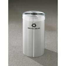 RecyclePro Value Series Single Stream 23 Gallon Industrial Recycling Bin