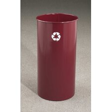 RecyclePro Single Stream Open Top 18 Gallon Industrial Recycling Bin