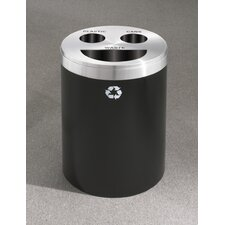 RecyclePro Triple Stream 33 Gallon Multi Compartment Recycling Bin