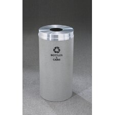 RecyclePro Single Stream Bottles Recycling Receptacle