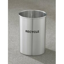 RecyclePro Single Stream Open Top 5 Gallon Recycling Waste Basket