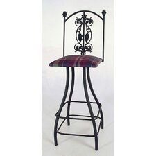 Tall Grapes Swivel Stool
