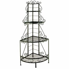 <strong>Grace Collection</strong> French Corner Baker's Rack