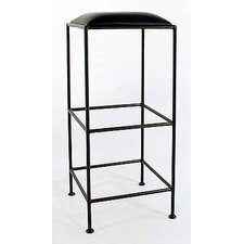 "36"" Square Metal Bar Stool"