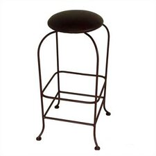 "Designer 24"" Backless Swivel Stool"