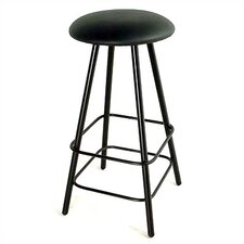 "24"" Straight Leg Swivel Stool"