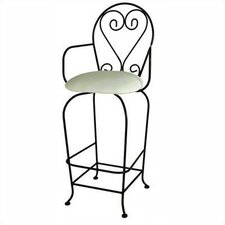 French Quarter Swivel Barstool