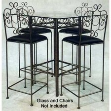 French Traditional Counter Height Bistro Table Base