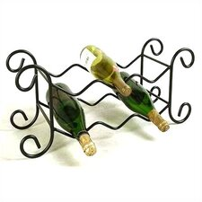 <strong>Grace Collection</strong> 6 Bottle Tabletop Wine Rack