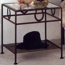 <strong>Grace Collection</strong> Horseshoe Nightstand
