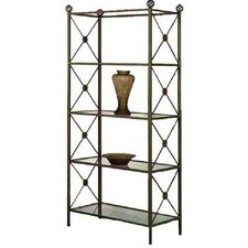 "<strong>Grace Collection</strong> 79"" H Neoclassic Etagere"
