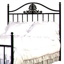<strong>Grace Collection</strong> Coronet Wrought Iron Headboard