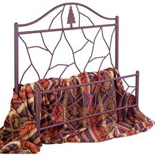 <strong>Grace Collection</strong> Twig Wrought Iron Headboard