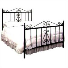French Wrought Iron Bed