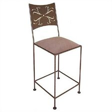 Wheat Counter Stool with Arms