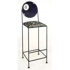 Billiards Bar Stool- 8 Ball