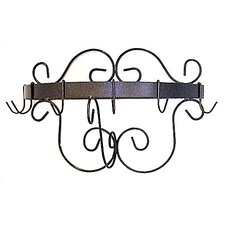 <strong>Grace Collection</strong> Half Round Wall Mounted Pot Rack