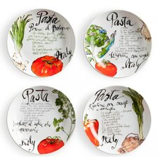 Pasta Italiana Bowl (Set of 4)
