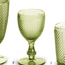 Pressed Glass Goblet (Set of 4)