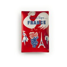 Voyage Travel France Rectangular Serving Tray