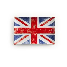 <strong>Rosanna</strong> Voyage Union Jack Rectangular Serving Tray