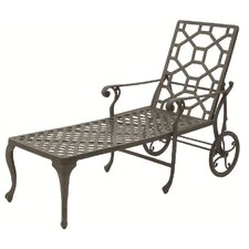 <strong>Suncoast</strong> Presidio Wheel Chaise Lounge