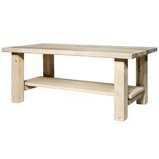 Homestead Coffee Table with Shelf