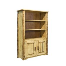 Glacier Country Bookcase with Storage
