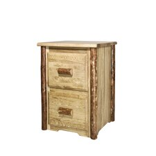 Glacier Country 2 Drawer File Cabinet