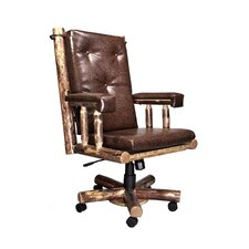 <strong>Montana Woodworks®</strong> Glacier Country Upholstered Office Chair
