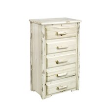 <strong>Montana Woodworks®</strong> Montana 5 Drawer Chest