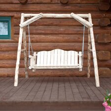 Montana Porch Swing with Stand