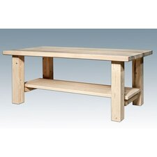 Homestead Coffee Table with Shelf