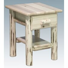 <strong>Montana Woodworks®</strong> Montana with 1 Drawer Nightstand