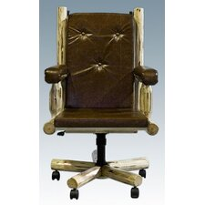 <strong>Montana Woodworks®</strong> Montana Upholstered Office Chair