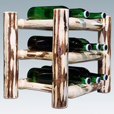 <strong>Montana Woodworks®</strong> Montana 9 Bottle Tabletop Wine Rack