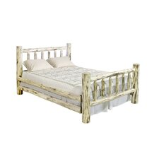 Montana Log Slat Bed