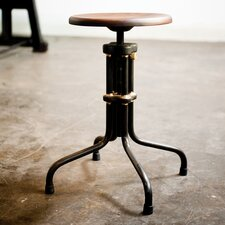 "<strong>District Eight Design</strong> V19R 20"" Adjustable Bar Stool"