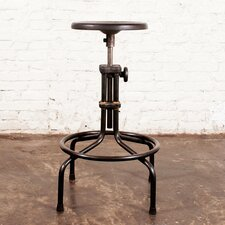 "<strong>District Eight Design</strong> V19C 24.5"" Adjustable Bar Stool"