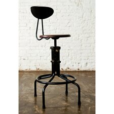 V19C Adjustable Height Bar Stool