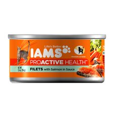 ProActive Health Adult Wet Cat Food with Salmon in Sauce (5.5-oz, case of 12)