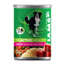 ProActive Health Adult Wet Dog Food with Beef and Rice (13.2-oz,case of 12)
