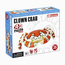 <strong>Tedco Toys</strong> Clown Crab 4D Puzzle