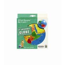 """12"""" Inflatable Globe"""